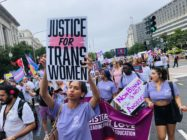 Cis women send powerful messages of solidarity in defence of trans rights