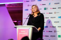 Penny Mordaunt addressed the PinkNews Awards