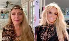 Carole Baskin (L) came out swinging for a campaign aiming to end Britney Spears' conservatorship. (Screen capture via Cameo/Lester Cohen/BBMA2016/Getty)